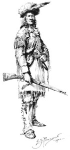Mountain Man Sketch by E.S. Paxson, Montana Historical Society