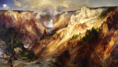 Thomas_Moran_-_Grand_Canyon_of_the_Yellowstone_-_Smithsonian