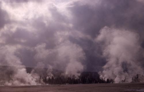 Midway geyser basin YDSF