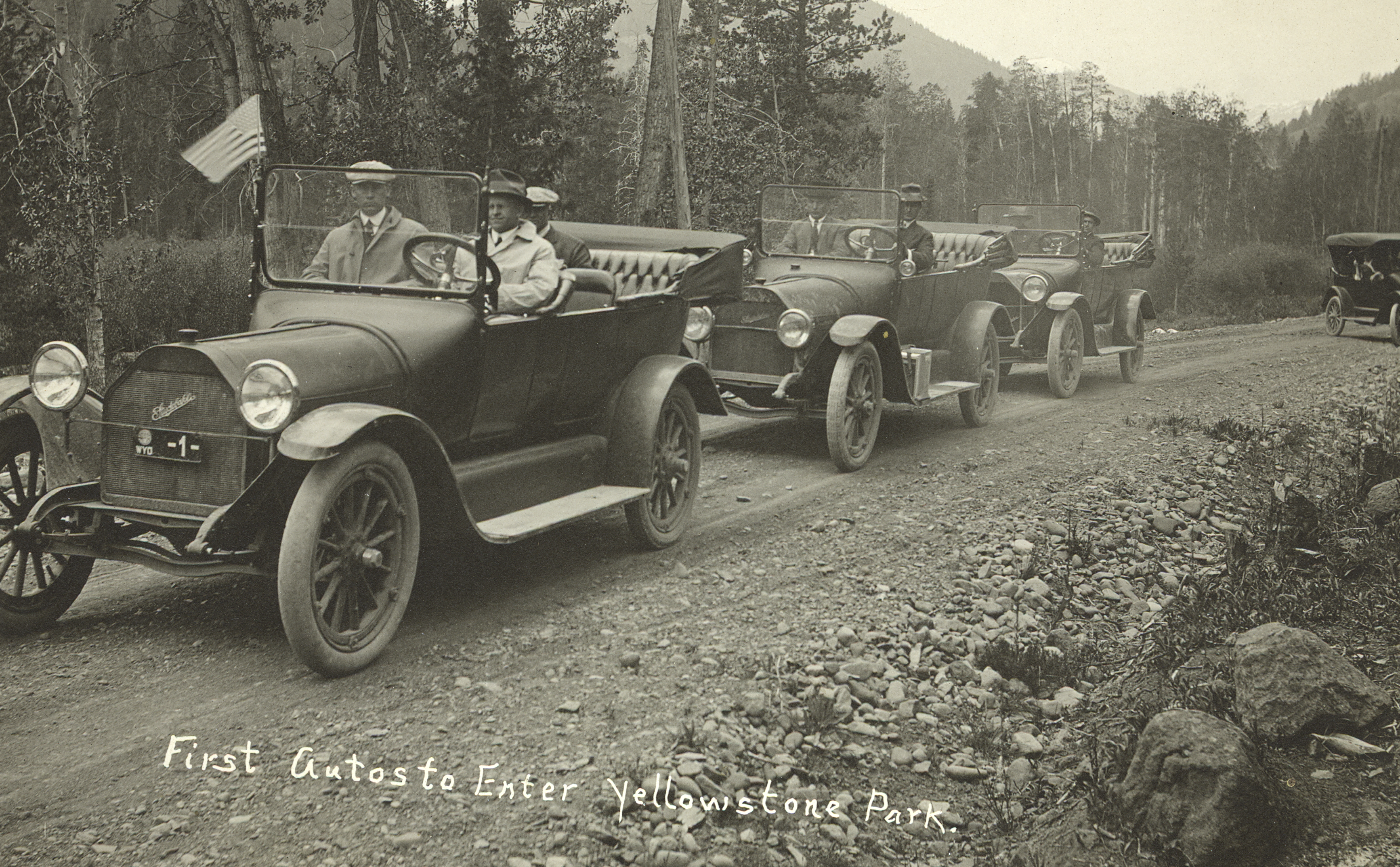 A Tale: Confusion Surrounds the First Car Officially in Yellowstone ...