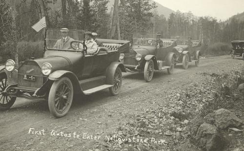 YNP First Cars 1915 PMB