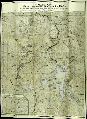 1872 YNP Map Hayden